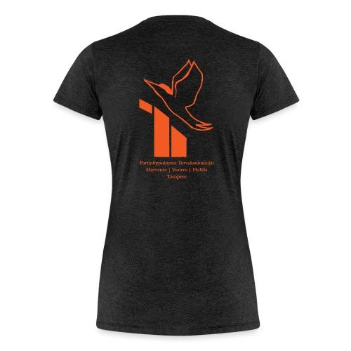 terte paitalogo - Naisten premium t-paita