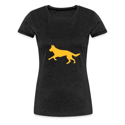 Deutscher Schäferhund - Frauen Premium T-Shirt