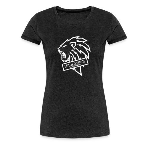 Löwenstadt Design 9 weiss - Frauen Premium T-Shirt