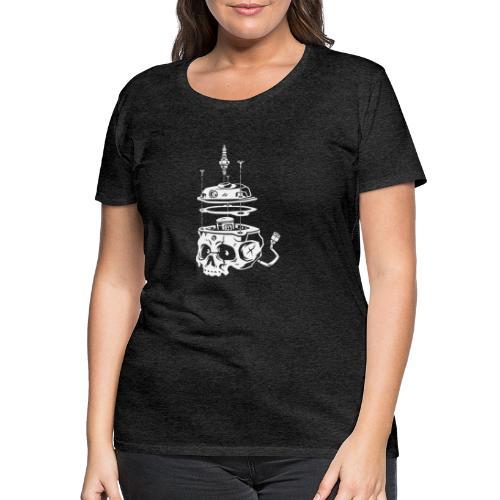 Piston_Skull - T-shirt Premium Femme