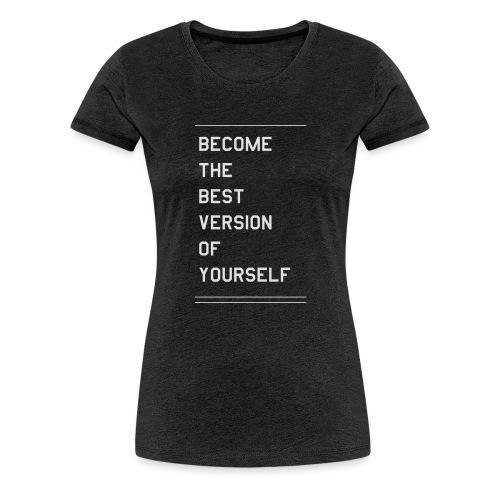 quote - Premium-T-shirt dam