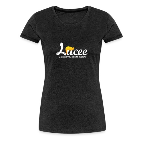 Lucee Trump - Women's Premium T-Shirt