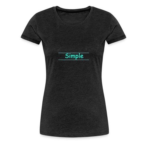 Simple - T-shirt Premium Femme