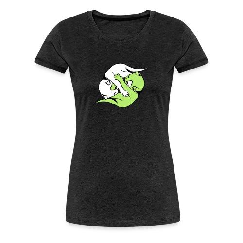Yin and Yang Kitties - Women's Premium T-Shirt