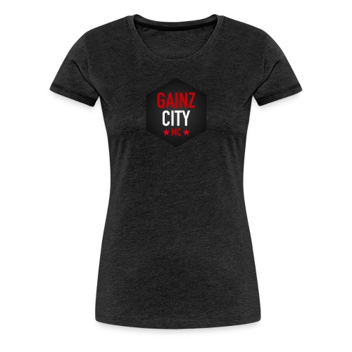 GAINZ CITY - MC - Premium-T-shirt dam