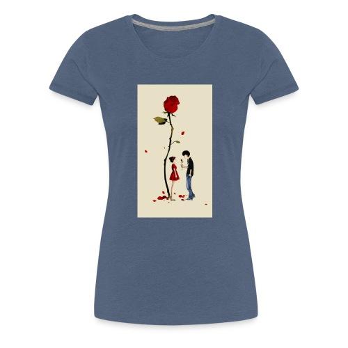 Roses are red - Camiseta premium mujer