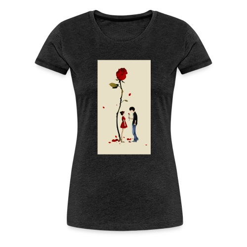 Roses are red - Camiseta premium mujer