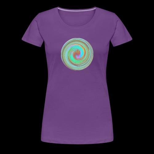 Illusion d'optique - T-shirt Premium Femme