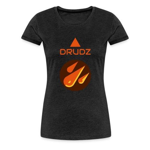 Drudz Yrkeskläder - Premium-T-shirt dam
