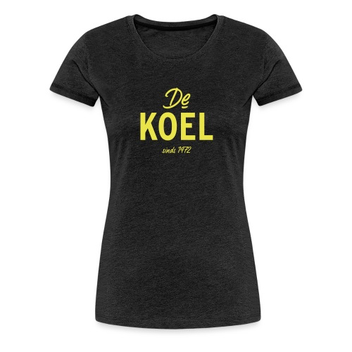 De Koel - Vrouwen Premium T-shirt