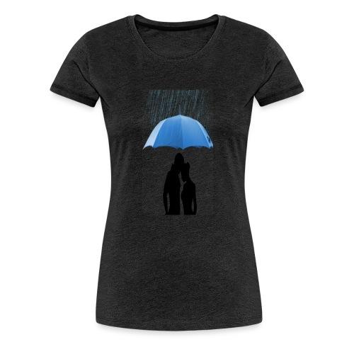 Love under the umbrella - Vrouwen Premium T-shirt