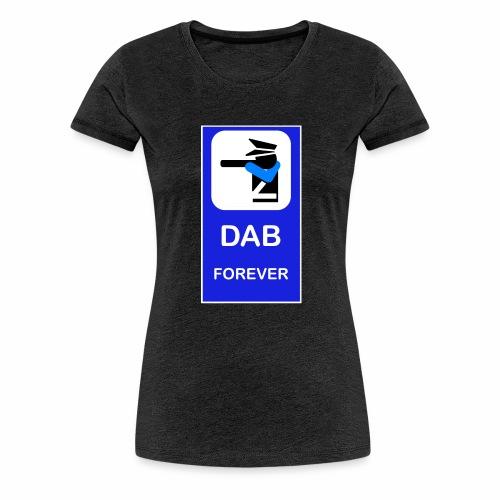 DAB POLICE BLUE - Maglietta Premium da donna