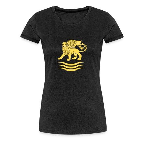 Trident Lion - Vrouwen Premium T-shirt