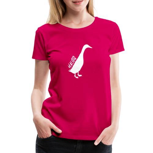 halitic Runnerduck - Frauen Premium T-Shirt