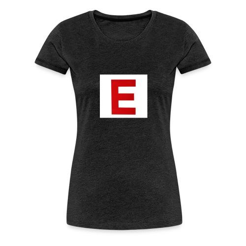 Itz Ethan Red Logo T-Shirt - Women's Premium T-Shirt