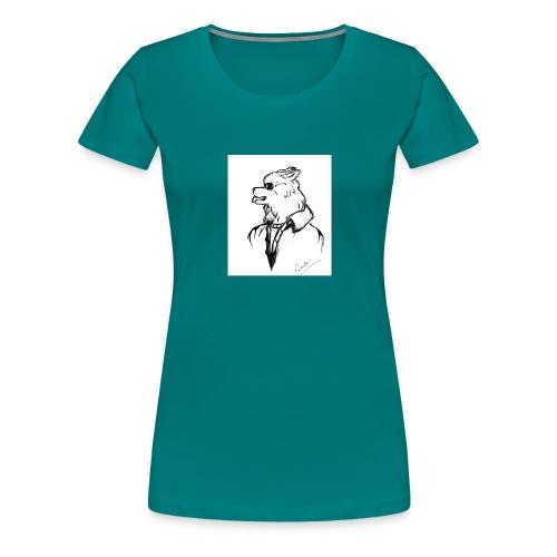 InkedThe Dog style bak LI - Camiseta premium mujer