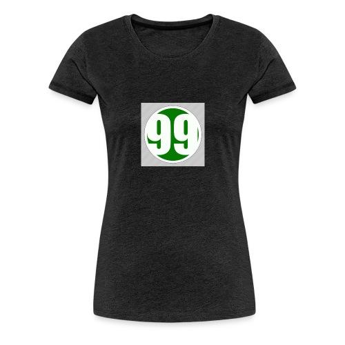 99 - Premium-T-shirt dam