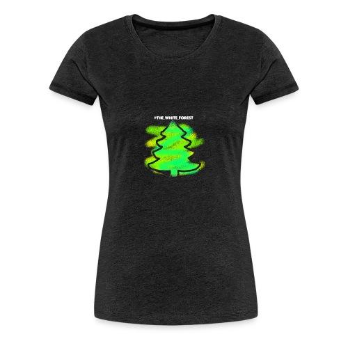 @THE_WHITE_FOREST KOLLEKTION - Frauen Premium T-Shirt