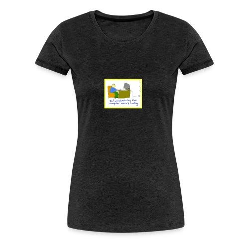 computer3 - Women's Premium T-Shirt