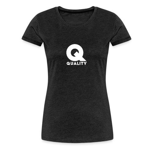 Quality White - Camiseta premium mujer