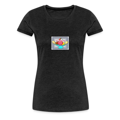 baby ice cream - Camiseta premium mujer