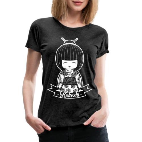 kokeshi - Frauen Premium T-Shirt