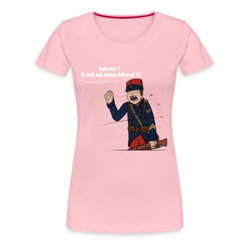 Sgt.Flantier 1914 - T-shirt Premium Femme