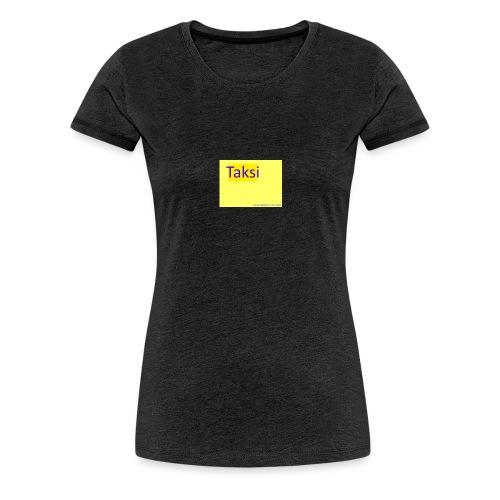 taksifoorumi - Naisten premium t-paita