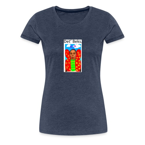 Det' Beks. - Dame premium T-shirt