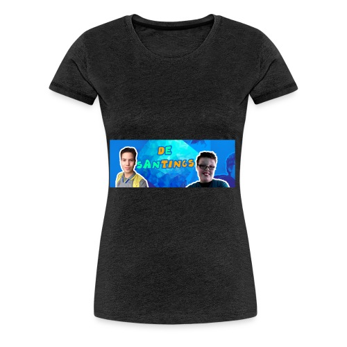 De Santings Banner Design - Vrouwen Premium T-shirt