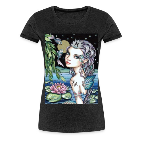 Pisces girl Fische Mädchen - Women's Premium T-Shirt
