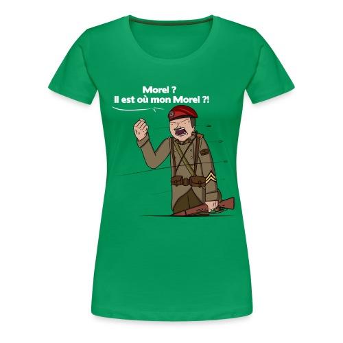 Sgt.Flantier 1940 - T-shirt Premium Femme