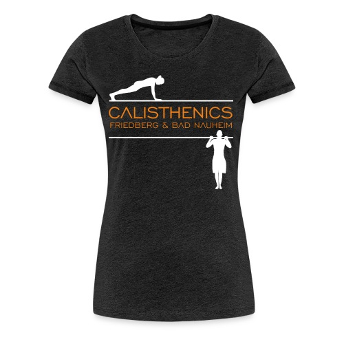 Calis Logo HiRes test - Frauen Premium T-Shirt