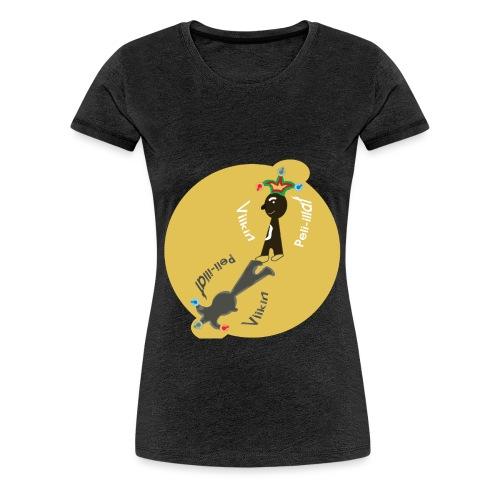 logo_viikin_peli-illat2 - Naisten premium t-paita