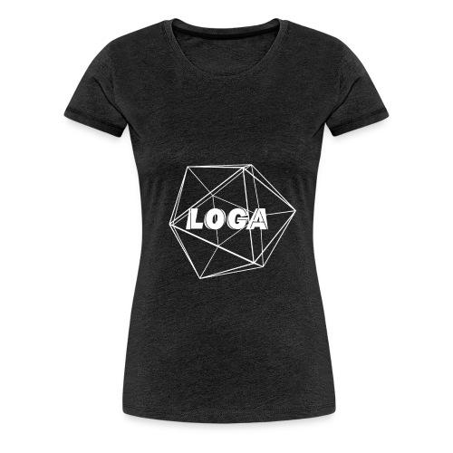 fertig weiß - Frauen Premium T-Shirt