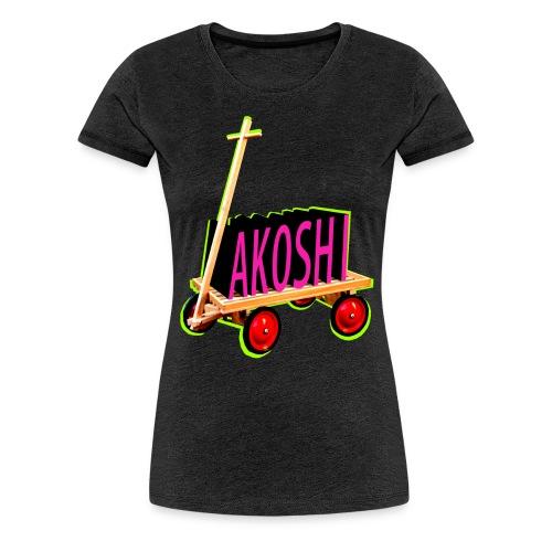 AKOSHI - Frauen Premium T-Shirt