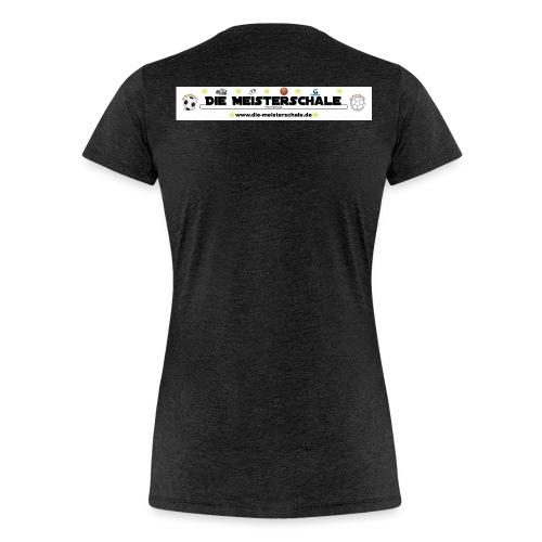 Die Meisterschale Logo Banner1 jpg - Frauen Premium T-Shirt