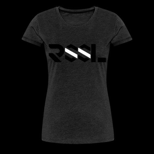 RSSL-white-black - Frauen Premium T-Shirt