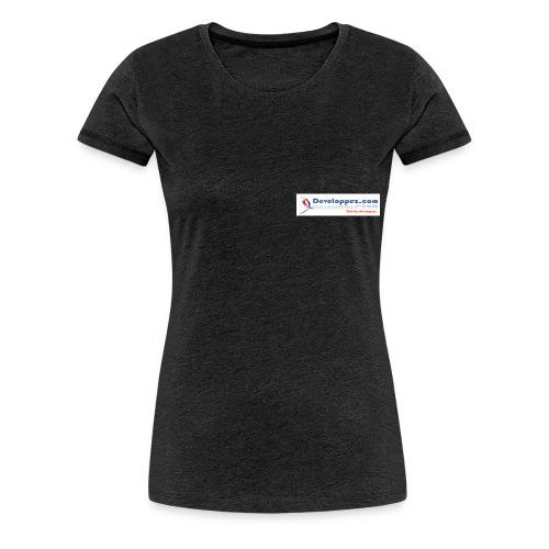 Bannière - T-shirt Premium Femme