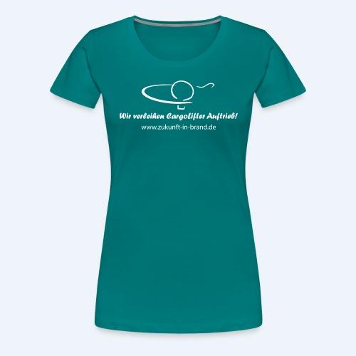 zib promo 2013 pfad - Frauen Premium T-Shirt
