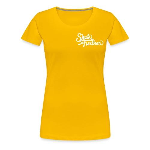 SkateFurther-Logo - Frauen Premium T-Shirt