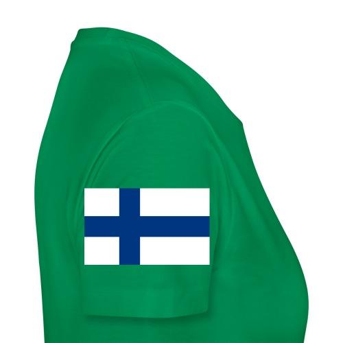 800pxflag of finlandsvg - Naisten premium t-paita