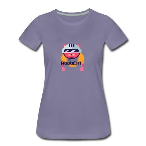 Robocat Tees - Women's Premium T-Shirt