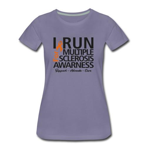 run black - Frauen Premium T-Shirt