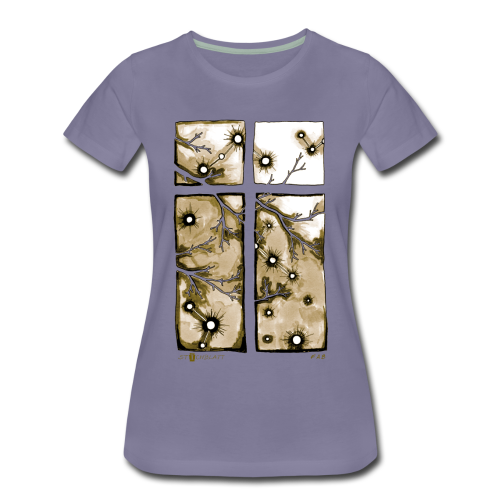 Für immer und ein Tag (beige) - Frauen Premium T-Shirt
