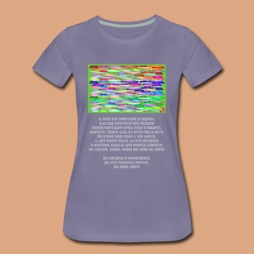 Abisso2 - Maglietta Premium da donna