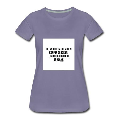 falscher Körper - Frauen Premium T-Shirt