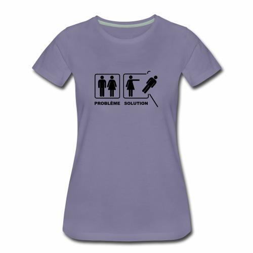 problème solution - T-shirt Premium Femme