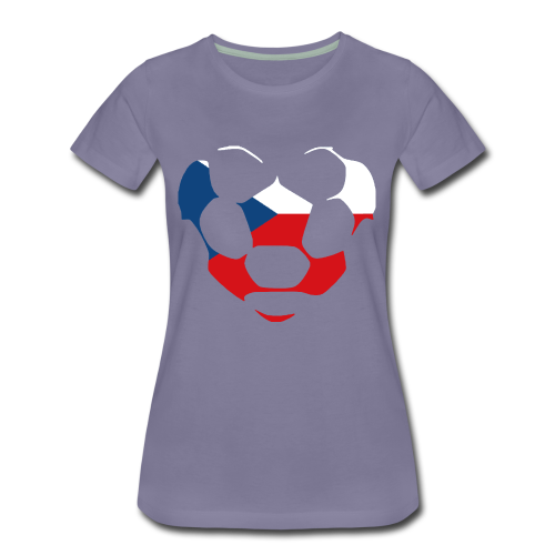 heartCZECHREPUBLIC - Women's Premium T-Shirt