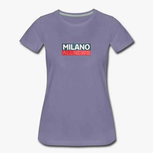 Milano AllNews Logo - Maglietta Premium da donna